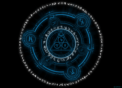 circles, magic, arcane, magic circles - random desktop wallpaper