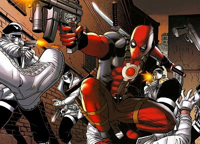 fantasy, Deadpool Wade Wilson, Marvel Comics - related desktop wallpaper