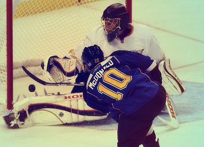 hockey, St. Louis Blues, Anaheim Ducks, Jonas Hiller, Andy Mcdonald - random desktop wallpaper