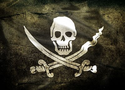 pirates, flags, skull and crossbones, Jolly Roger - random desktop wallpaper