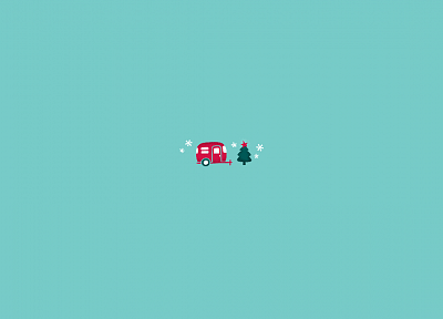 minimalistic, Christmas, artwork - related desktop wallpaper
