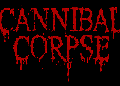 Cannibal Corpse, Cannibal Corpse Logo - random desktop wallpaper
