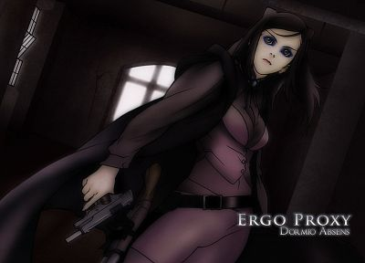 Ergo Proxy, Re-l Mayer - desktop wallpaper