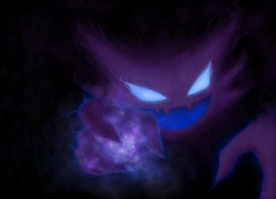Pokemon, Haunter - random desktop wallpaper