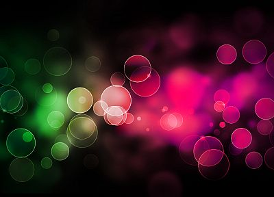 bokeh - random desktop wallpaper