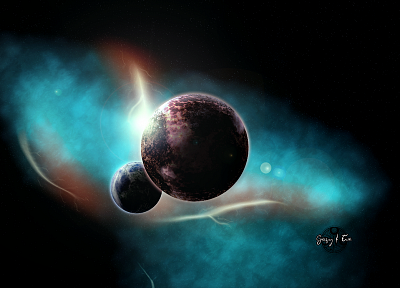 outer space, planets, Doctor Who, Gallifrey - random desktop wallpaper