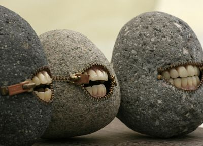 stones, grin - random desktop wallpaper
