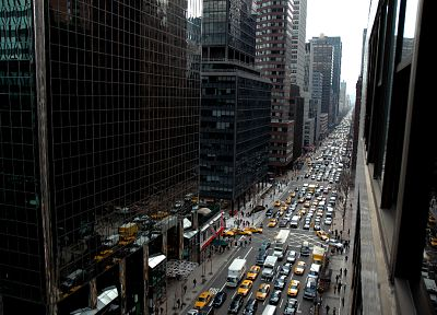 cityscapes, streets, New York City - desktop wallpaper