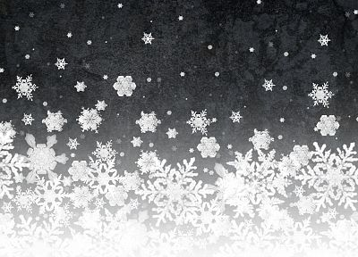 abstract, snowflakes - random desktop wallpaper