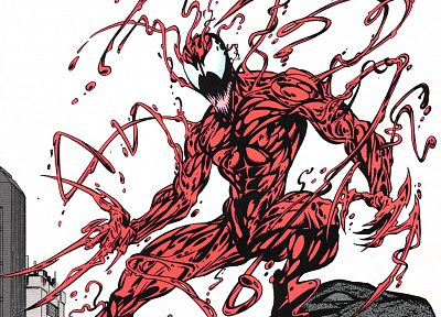 Venom, Spider-Man, Carnage, Marvel Comics - random desktop wallpaper