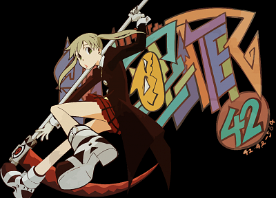 Soul Eater, Albarn Maka, transparent, anime vectors - desktop wallpaper