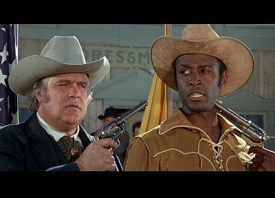 guns, movies, Blazing Saddles - random desktop wallpaper