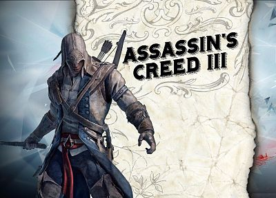 video games, tomahawk, Assassins Creed 3 - random desktop wallpaper