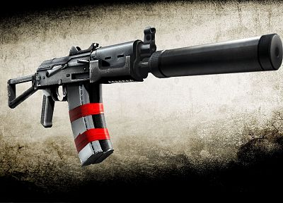 guns, weapons, silencer, ak-74, 5.45x39mm - random desktop wallpaper