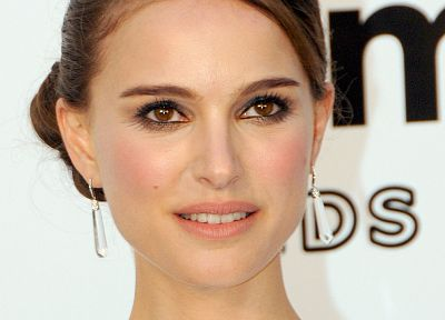 women, actress, Natalie Portman, earrings - related desktop wallpaper