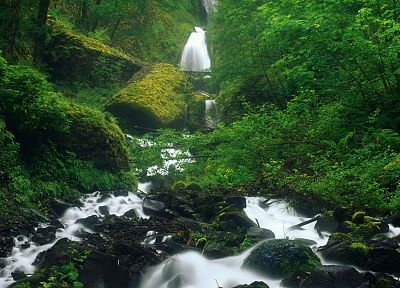 nature, falls, Oregon, waterfalls, rivers - related desktop wallpaper