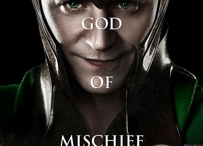 movie posters, Loki, Tom Hiddleston, Thor (movie) - desktop wallpaper