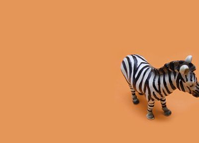minimalistic, zebras, simple background - desktop wallpaper