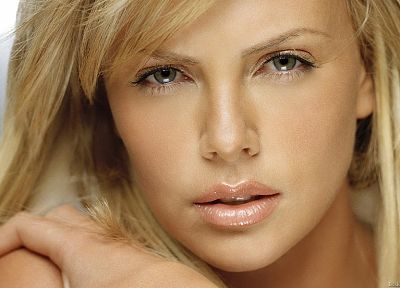 women, Charlize Theron, faces - random desktop wallpaper