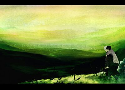 Mushishi, Ginko - related desktop wallpaper