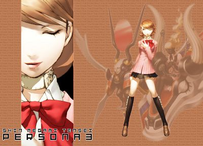 Persona series, Persona 3, anime, Takeba Yukari - related desktop wallpaper