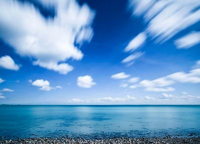 ocean, nature, skyscapes, beaches - desktop wallpaper