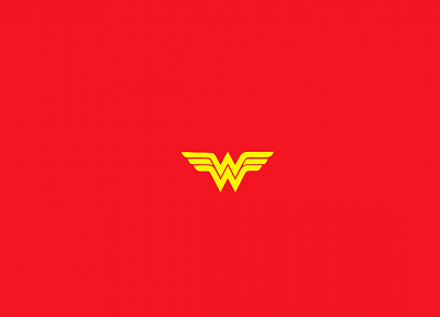 minimalistic, Wonder Woman - desktop wallpaper