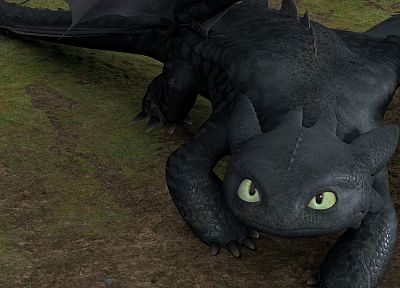 toothless, How to Train Your Dragon - random desktop wallpaper
