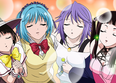 Rosario to Vampire, witches, Yuki Onna - desktop wallpaper
