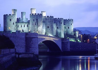 castles, bridges - random desktop wallpaper