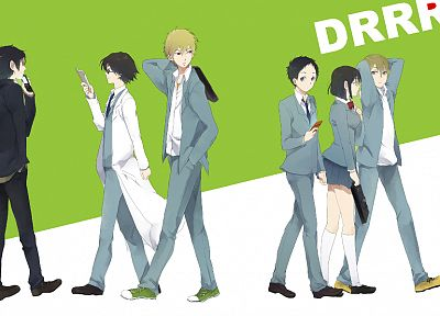 Durarara!!, anime - random desktop wallpaper