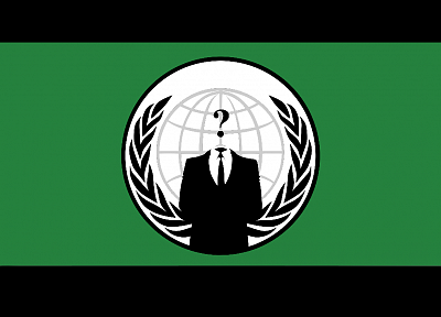 Anonymous, flags - desktop wallpaper