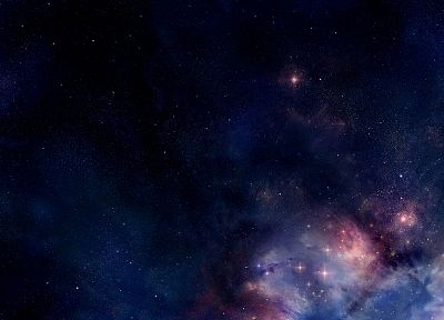outer space, stars, nebulae - desktop wallpaper