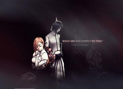 Bleach, Inoue Orihime, Espada, Ulquiorra Cifer - random desktop wallpaper