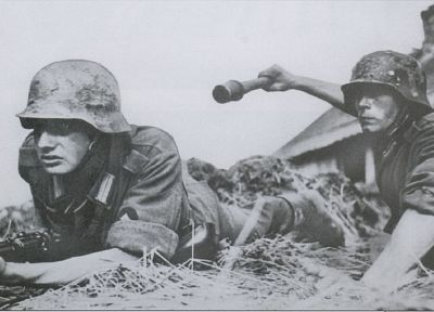 soldiers, World War II, historic - related desktop wallpaper