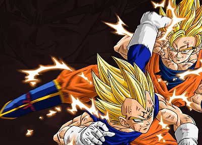 Vegeta, Son Goku, Dragon Ball Z - related desktop wallpaper