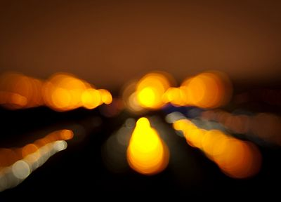 lights, bokeh, blurred - random desktop wallpaper