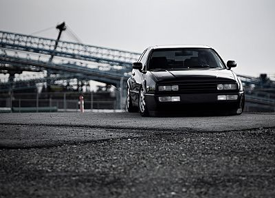 cars, Volkswagen, blurred background, corrado - random desktop wallpaper