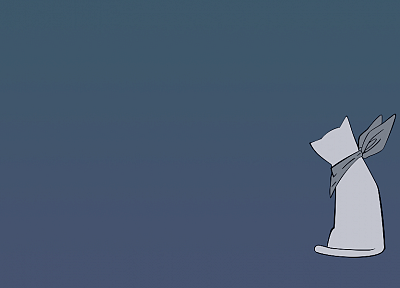 Nichijou, simple background - random desktop wallpaper