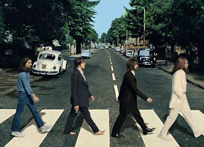 Abbey Road, The Beatles - desktop wallpaper