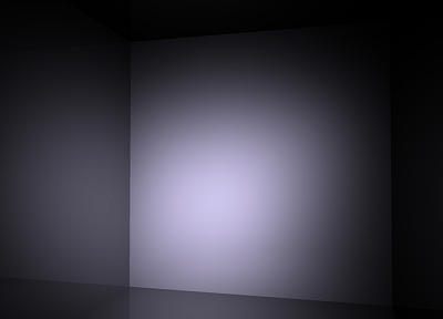 minimalistic, white, room, cubes - desktop wallpaper