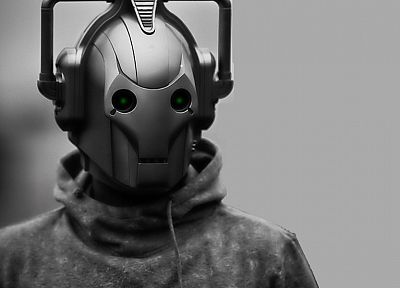 music, robot, cybermen, Doctor Who - random desktop wallpaper