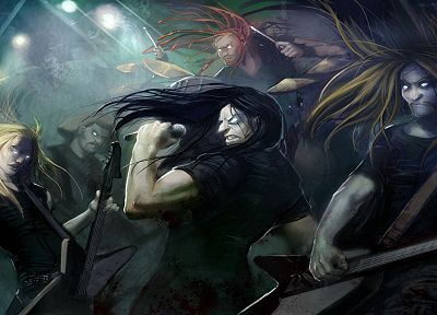 dethklok - random desktop wallpaper