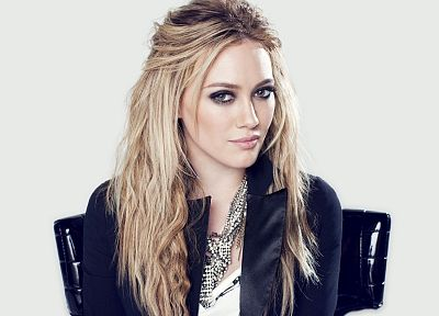 women, actress, Hilary Duff - random desktop wallpaper