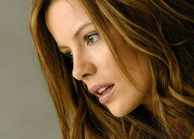brunettes, women, Kate Beckinsale - desktop wallpaper