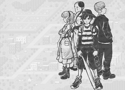wall, RPG, mother, Earthbound - related desktop wallpaper