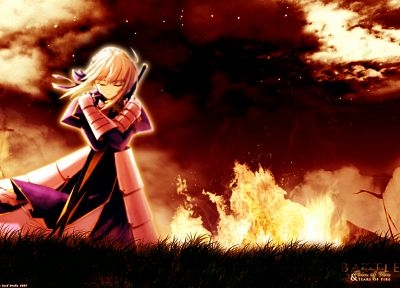 Fate/Stay Night, Saber, Fate series, Shingo (Missing Link) - related desktop wallpaper