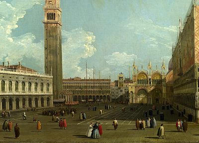 paintings, mark, Venice, Italy, San Marco, squares - random desktop wallpaper