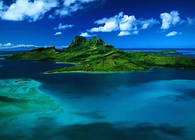 ocean, landscapes, nature, islands - random desktop wallpaper