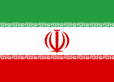 flags, Iran - desktop wallpaper
